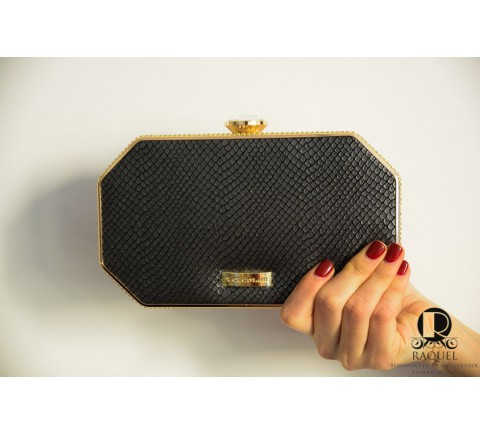 BOLSO SEATLE NEGRO CLUTCH
